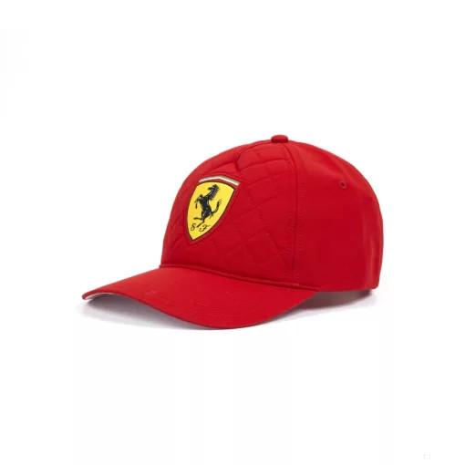 2018, Piros, Felnőtt, Ferrari Quilt Baseball sapka