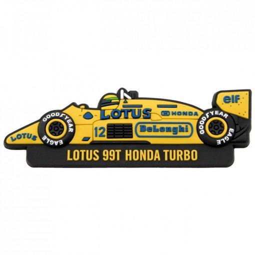 2017, Sárga, Senna Team Lotus 1987 Hűtőmágnes