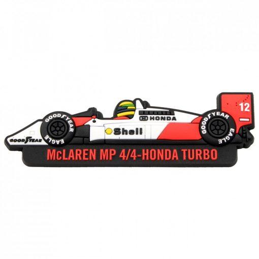 2017, Fehér, Senna McLaren Hűtőmágnes