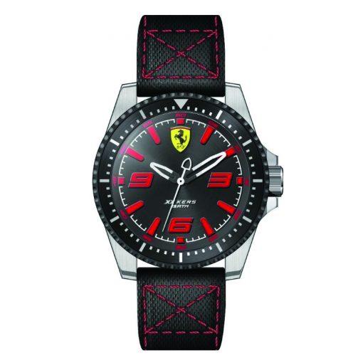 2019, Piros-Fekete, Ferrari XX KERS Quartz Férfi Karóra