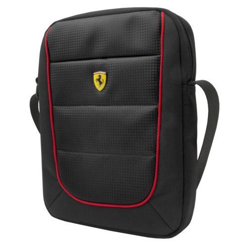 2018, Fekete, 20x20x5 cm, Ferrari Scudetto Oldaltáska
