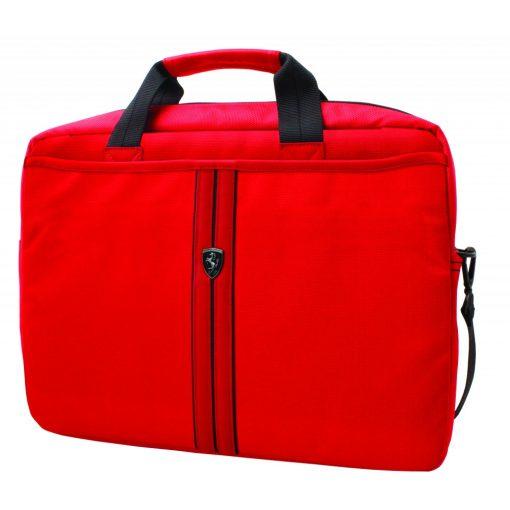 2018, Piros, 38x28x10 cm, Ferrari Urban Laptop Táska