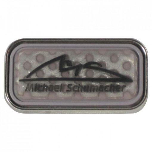2015, Szürke, Schumacher Logo Kitűző