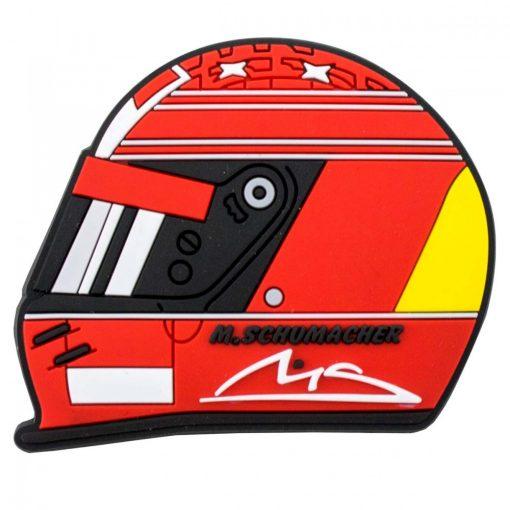 2018, Piros, Schumacher Helmet 2000 Hűtőmágnes