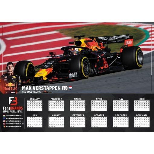 Max Verstappen versenynaptár